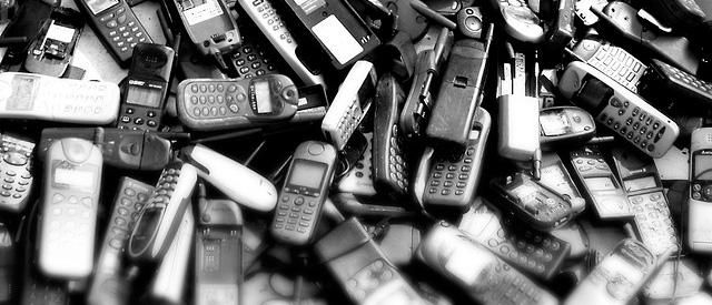 Alte Mobiltelefone
